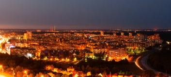 Άποψη νύχτας του Ufa Στοκ φωτογραφίες με δικαίωμα ελεύθερης χρήσης