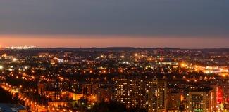 Άποψη νύχτας του Ufa Στοκ φωτογραφία με δικαίωμα ελεύθερης χρήσης