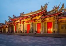 Άποψη νύχτας Hsing Tian Kong Στοκ Φωτογραφία
