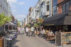 Άποψη οδών στο Αϊντχόβεν, Κάτω Χώρες στοκ φωτογραφία με δικαίωμα ελεύθερης χρήσης