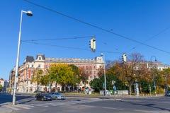 Άποψη οδών της Βιέννης στοκ φωτογραφία με δικαίωμα ελεύθερης χρήσης