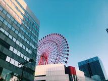 Άποψη οδών της Ιαπωνίας Οζάκα Στοκ Εικόνες