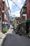 Άποψη οδών της Σεούλ Είναι η κύρια και μεγαλύτερη μητρόπολη της Νότιας Κορέας στοκ εικόνες