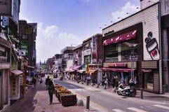 Άποψη οδών της Σεούλ Είναι η κύρια και μεγαλύτερη μητρόπολη της Νότιας Κορέας στοκ φωτογραφίες με δικαίωμα ελεύθερης χρήσης