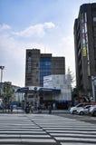 Άποψη οδών της Σεούλ Είναι η κύρια και μεγαλύτερη μητρόπολη της Νότιας Κορέας στοκ εικόνα με δικαίωμα ελεύθερης χρήσης