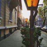 Άποψη οδών Στοκ εικόνες με δικαίωμα ελεύθερης χρήσης