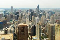 Άποψη οριζόντων και Gold Coast του Σικάγου Στοκ Εικόνα