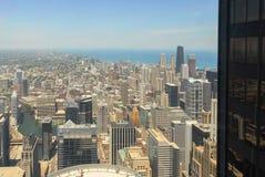 Άποψη οριζόντων του Σικάγου στοκ φωτογραφίες