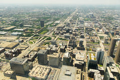 Άποψη οριζόντων του Σικάγου στοκ εικόνα με δικαίωμα ελεύθερης χρήσης