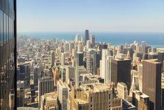 Άποψη οριζόντων του Σικάγου στοκ εικόνες με δικαίωμα ελεύθερης χρήσης