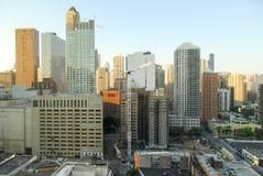 Άποψη οριζόντων του Σικάγου στοκ φωτογραφία με δικαίωμα ελεύθερης χρήσης