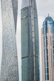 Άποψη ουρανοξύστες στο Ντουμπάι, Ε.Α.Ε. Στοκ εικόνα με δικαίωμα ελεύθερης χρήσης