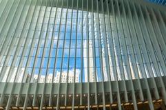 Άποψη ουρανού από το Oculus Στοκ Εικόνες