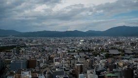 Άποψη ουρανού του στο κέντρο της πόλης Τόκιο που λαμβάνεται από τον πύργο άποψης ουρανού Η μητρόπολη του Τόκιο επεκτείνεται στον  στοκ φωτογραφίες