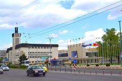 Άποψη οδών πόλεων Plovdiv Στοκ Φωτογραφίες