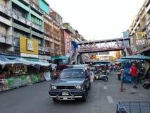 Άποψη οδών σε Chiang Mai Στοκ φωτογραφία με δικαίωμα ελεύθερης χρήσης