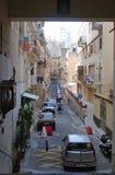 Άποψη οδών σε Valletta στοκ εικόνα με δικαίωμα ελεύθερης χρήσης