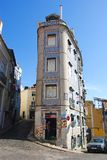 Άποψη οδών στη Λισσαβώνα στοκ φωτογραφία με δικαίωμα ελεύθερης χρήσης