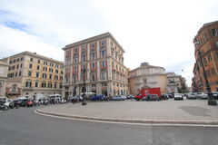 Άποψη οδών στη Ρώμη, Ιταλία Στοκ φωτογραφία με δικαίωμα ελεύθερης χρήσης