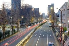 Άποψη οδών στο Τόκιο, Ιαπωνία Στοκ φωτογραφίες με δικαίωμα ελεύθερης χρήσης