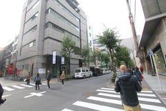 Άποψη οδών της Ιαπωνίας Τόκιο Στοκ εικόνες με δικαίωμα ελεύθερης χρήσης