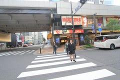 Άποψη οδών της Ιαπωνίας Τόκιο Στοκ Εικόνα
