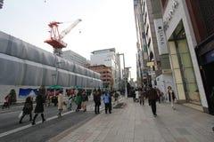 Άποψη οδών της Ιαπωνίας Τόκιο Στοκ Εικόνες