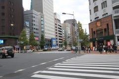 Άποψη οδών της Ιαπωνίας Τόκιο Στοκ Φωτογραφίες