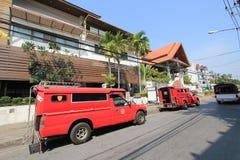 Άποψη οδών της Ταϊλάνδης Chiang Mai Στοκ φωτογραφίες με δικαίωμα ελεύθερης χρήσης