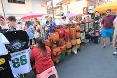 Άποψη οδών της Ταϊλάνδης Chiang Mai Στοκ φωτογραφία με δικαίωμα ελεύθερης χρήσης