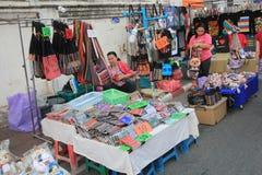 Άποψη οδών της Ταϊλάνδης Chiang Mai Στοκ Φωτογραφίες