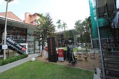 Άποψη οδών της Ταϊλάνδης Chiang Mai Στοκ Εικόνες