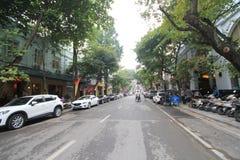 Άποψη οδών του Βιετνάμ Ανόι Στοκ εικόνες με δικαίωμα ελεύθερης χρήσης