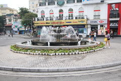 Άποψη οδών του Βιετνάμ Ανόι Στοκ φωτογραφία με δικαίωμα ελεύθερης χρήσης