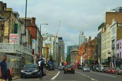 Άποψη οδών του Λονδίνου Στοκ Φωτογραφία