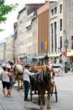 Άποψη οδών του Μόντρεαλ Στοκ φωτογραφίες με δικαίωμα ελεύθερης χρήσης