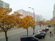 Άποψη οδών Στοκ φωτογραφία με δικαίωμα ελεύθερης χρήσης