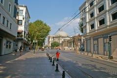 Άποψη οδών Istambul Στοκ εικόνα με δικαίωμα ελεύθερης χρήσης