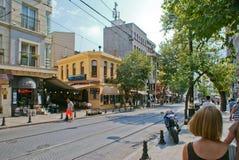 Άποψη οδών Istambul Στοκ εικόνες με δικαίωμα ελεύθερης χρήσης
