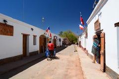 Άποψη οδών SAN Pedro de Atacama Χιλή Στοκ φωτογραφία με δικαίωμα ελεύθερης χρήσης