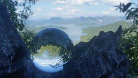 Άποψη πάρκων Khao sok εθνική Στοκ Εικόνες
