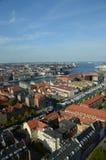 Άποψη πέρα από την Κοπεγχάγη Στοκ φωτογραφίες με δικαίωμα ελεύθερης χρήσης