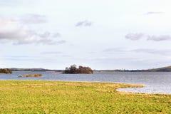 Άποψη πέρα από τη λίμνη Leven στο Περθ και Kinross Σκωτία, UK στοκ φωτογραφίες με δικαίωμα ελεύθερης χρήσης