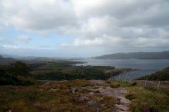 Άποψη πέρα από τις ορεινές περιοχές Στοκ Εικόνες