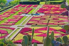 Άποψη πέρα από τον κήπο Jardim Botanico στο νησί της Μαδέρας στοκ φωτογραφίες με δικαίωμα ελεύθερης χρήσης