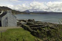 Άποψη πέρα από τον κόλπο Gairloch στη Σκωτία Στοκ Εικόνα