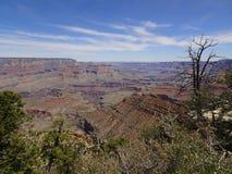 Άποψη πέρα από το μεγάλο φαράγγι, Αριζόνα, ΗΠΑ στοκ εικόνες με δικαίωμα ελεύθερης χρήσης