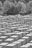 Άποψη πέρα από το μνημείο ολοκαυτώματος Στοκ φωτογραφία με δικαίωμα ελεύθερης χρήσης