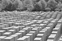 Άποψη πέρα από το μνημείο ολοκαυτώματος Στοκ εικόνες με δικαίωμα ελεύθερης χρήσης