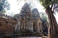 Άποψη πέρα από το ναό Preah Khan επί του τόπου Angkor Wat Στοκ Εικόνες